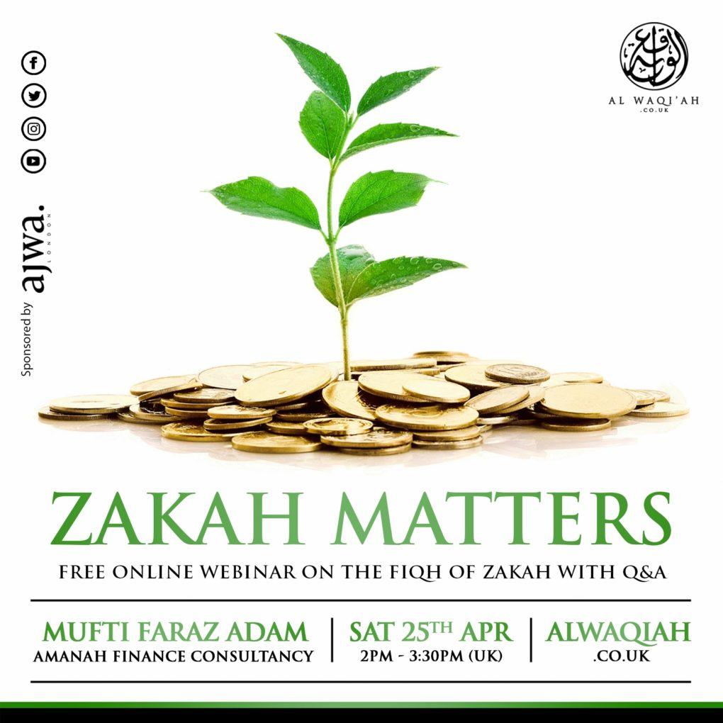 ZAKAH MATTERS | Mufti Faraz Adam
